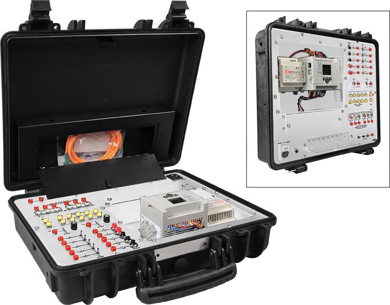 AB MicroLogix 1100 PLC with Case – DAKTIC LLC.